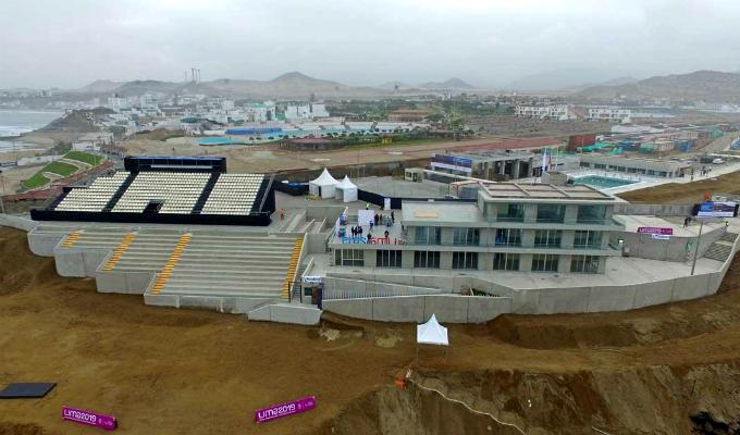 Lima 2019: entregan nuevo Centro de Alto Rendimiento del Surf