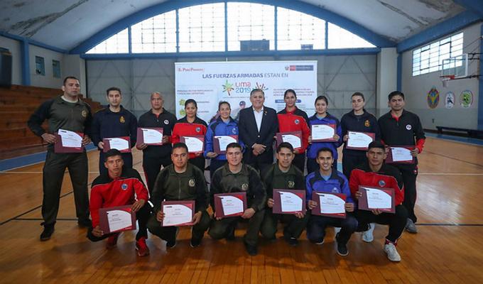 15 deportistas de las FFAA participarán en los Juegos Panamericanos y Parapanamericanos