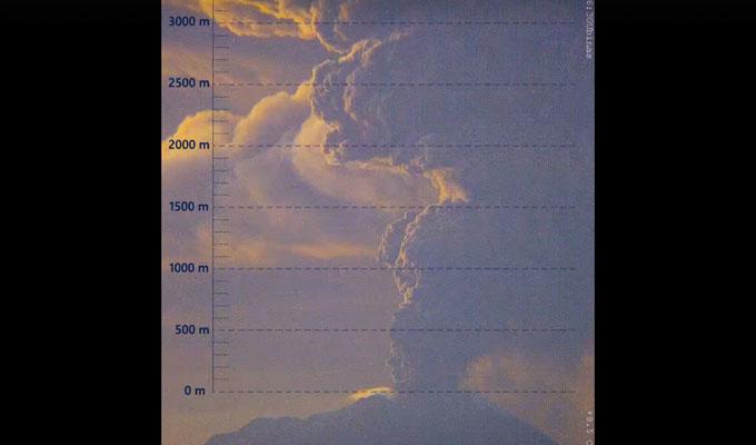 IGP: alerta naranja por erupción de volcán Ubinas en Moquegua