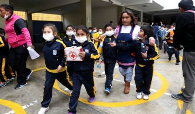 Volcán Ubinas: suspenden clases en 62 colegios de Moquegua, Arequipa y Puno