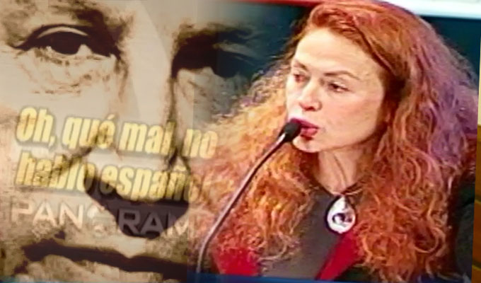 """I don't speak spanish"": recordando los exabruptos de Eliane Karp"