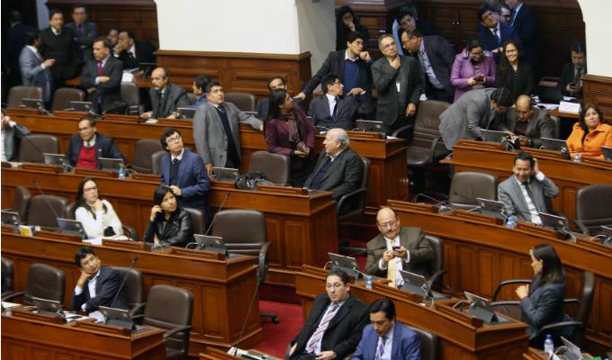 Congreso: hoy concluye legislatura y vence plazo para aprobar reforma política