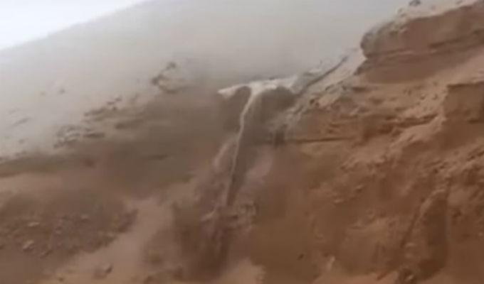 Tacna: huaico bloquea vía Costanera