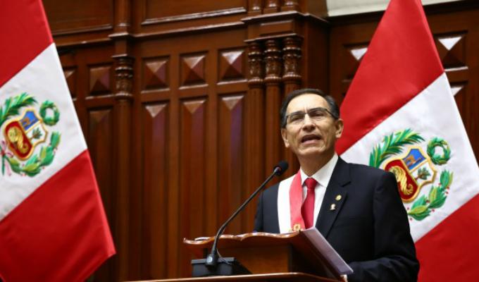 Presidente Vizcarra: Economía peruana crecerá 3.5% este año