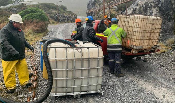 Patagonia chilena afectada por el derrame de cerca de 40.000 litros de diésel