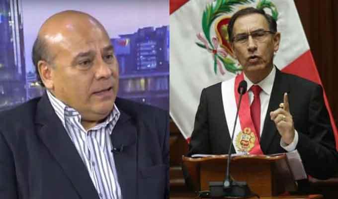 César Campos: Parece que Vizcarra huye de su más grande fracaso