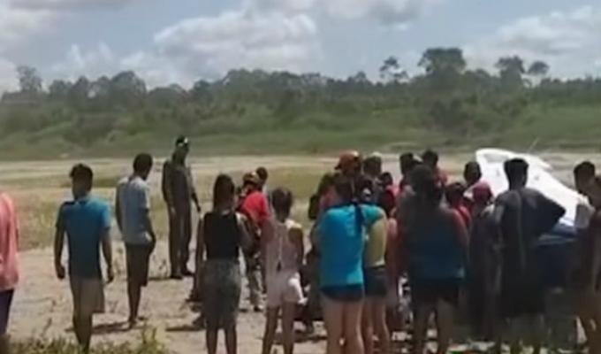 Ucayali: los heridos que dejó aterrizaje forzoso se recuperan en Hospital de Pucallpa