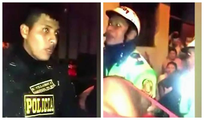 Santa Clara: retienen a policías para evitar detención de sujeto