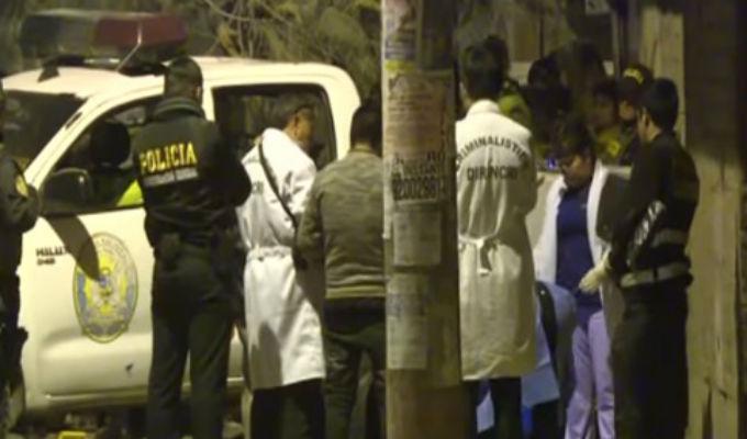SMP: acusan a policía de asesinar a joven que hacía pintas