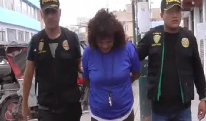 La Victoria: 'Tía Melcocha' rezaba en altar mientras vendía droga