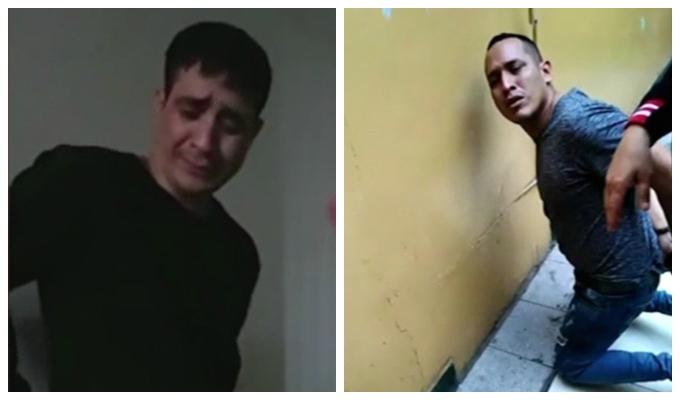Chorrillos: delincuentes lloran desconsoladamente tras ser detenidos