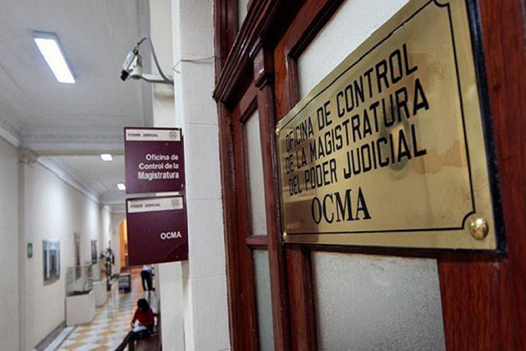 OCMA impuso más de 2 mil sanciones a jueces y auxiliares este año