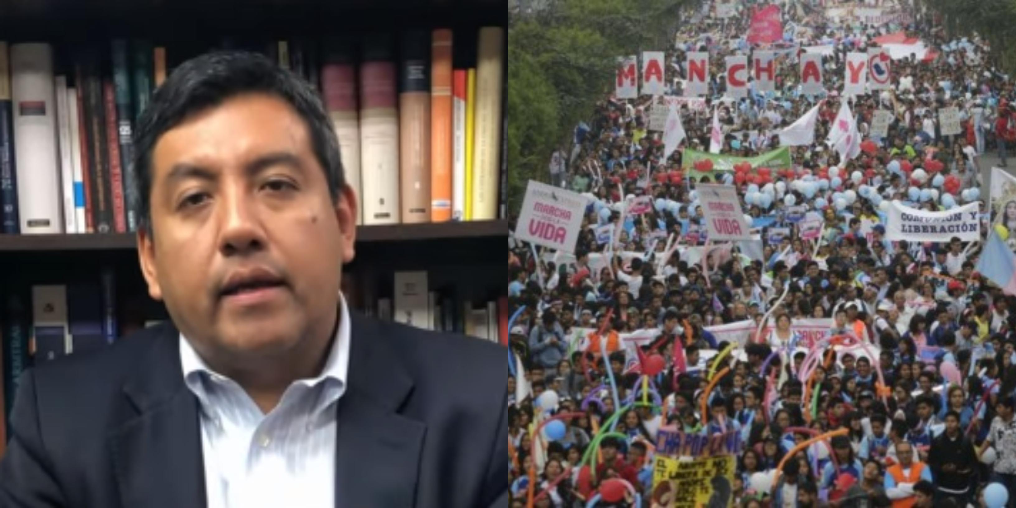 """Martín Santiváñez: """"Las ideologías están moldeando a la civilización moderna"""""""