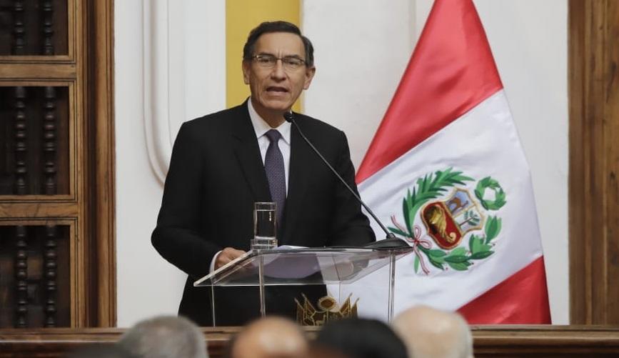 """Presidente Vizcarra: """"La misión de nuestro Gobierno es llevar al Perú hacia una nueva etapa"""""""