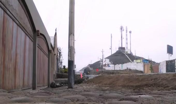 Punta Hermosa: vecinos afectados por obras en la antigua Panamericana Sur