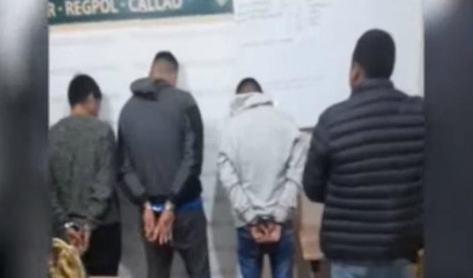 Callao: Escuadrón Terna captura banda dedicada al sicariato y extorsión