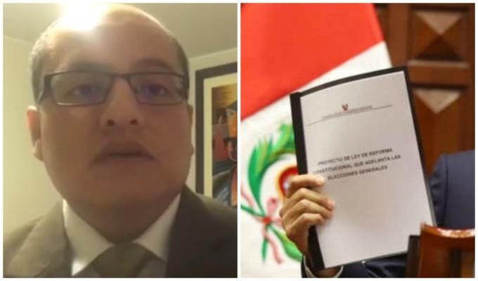 Víctor Hugo Quijada: posibles escenarios ante el planteado adelanto de elecciones