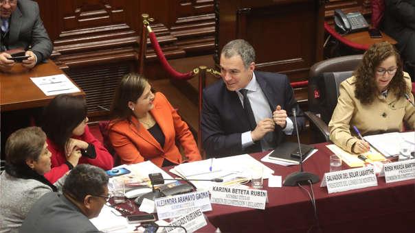 Premier Del Solar se reunirá con Fuerza Popular este lunes en el Congreso