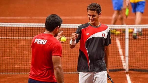 Lima 2019: tenistas Varillas y Galdos ganaron bronce en dobles masculino