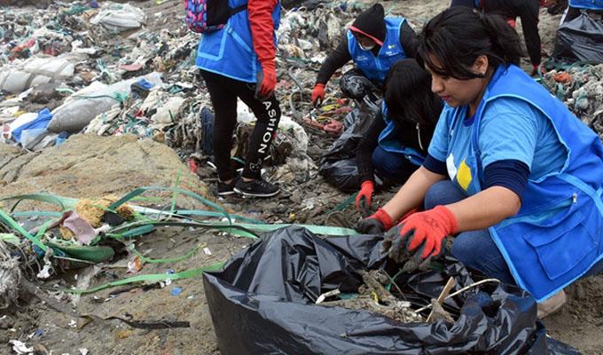 Playa Cavero: retiran 40 toneladas de residuos tras denuncia de PanamericanaTV