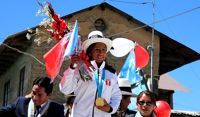 Lima 2019: Gladys Tejeda fue homenajeada en Junín tras ganar medalla de oro