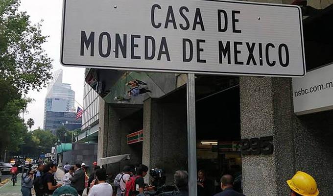 Millonario robo se registró en la Casa de la Moneda de México
