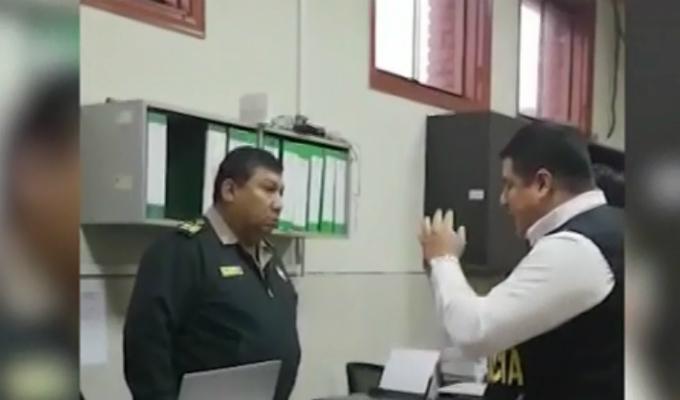 La Victoria: policía es intervenido por Fiscalía tras recibir coima