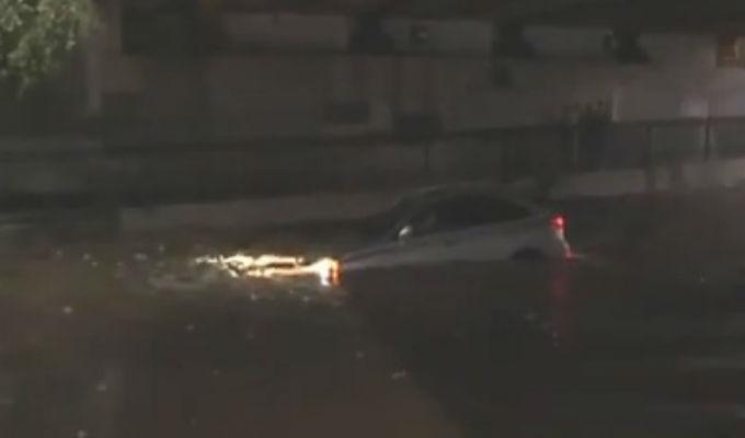 EEUU: tormentas inundan en pocas horas las calles de Baltimore