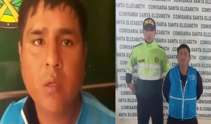 VMT: falso fiscalizador asegura que cobraba coimas a transportistas por ´diversión´