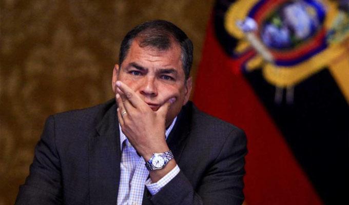 Rafael Correa: justicia ecuatoriana dictó prisión preventiva para expresidente