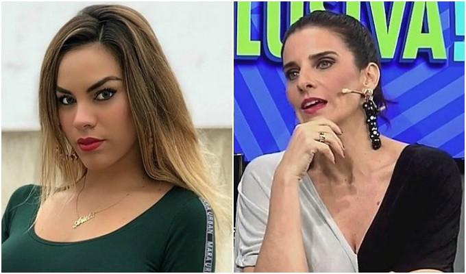 Laura Borlini y Aída Martínez protagonizan pelea en programa en vivo