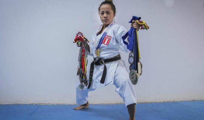 Lima 2019: Ingrid Arana obtiene medalla de bronce en Kata individual femenina