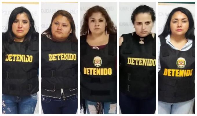 SMP: detienen a 'peperas' cuando intentaban robar a siete hombres