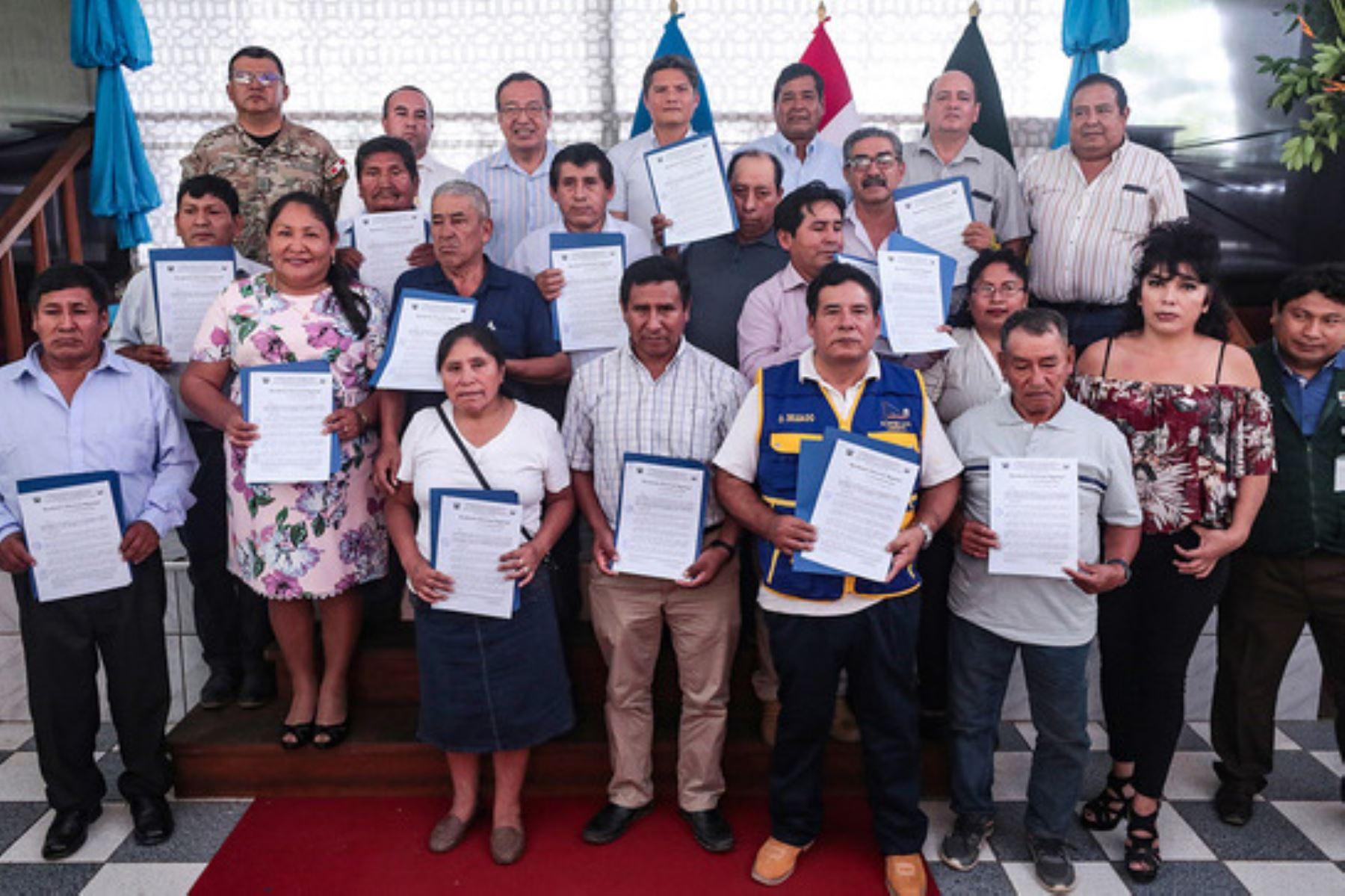 Minem: más de cien mineros se formalizaron en Madre de Dios