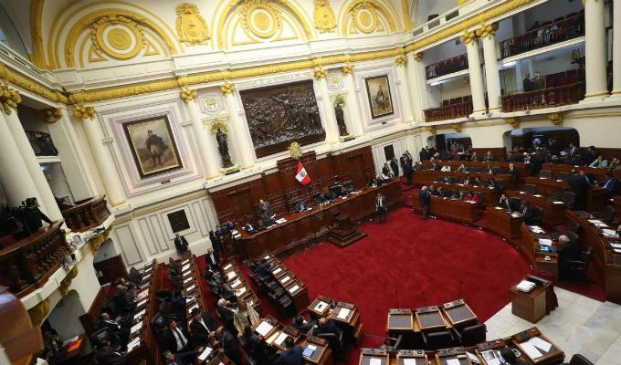 Congreso: cuadro de comisiones para el periodo 2019 - 2020 ya fue definida en Junta de Portavoces