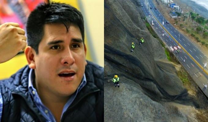 Alcalde de Magdalena: La Costa Verde se cae a pedazos