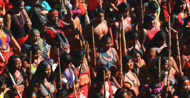 Brasil: miles marchan contra Bolsonaro por deforestación masiva