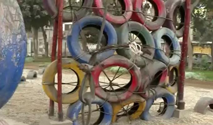 El Agustino: juegos en mal estado en parque son un peligro para niños
