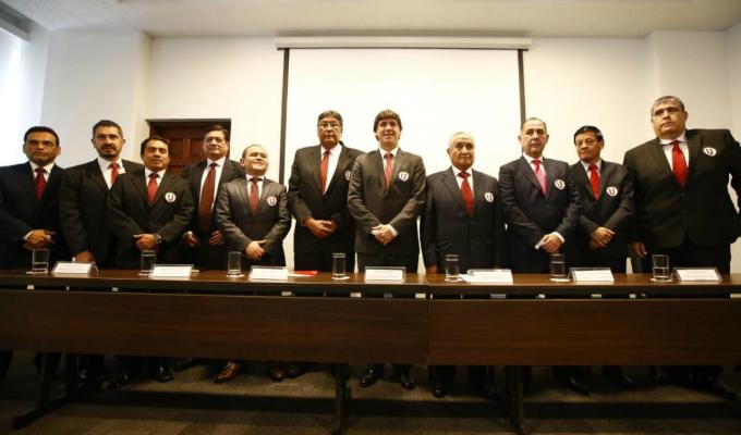 Universitario de Deportes: presentan a la nueva administración del club crema