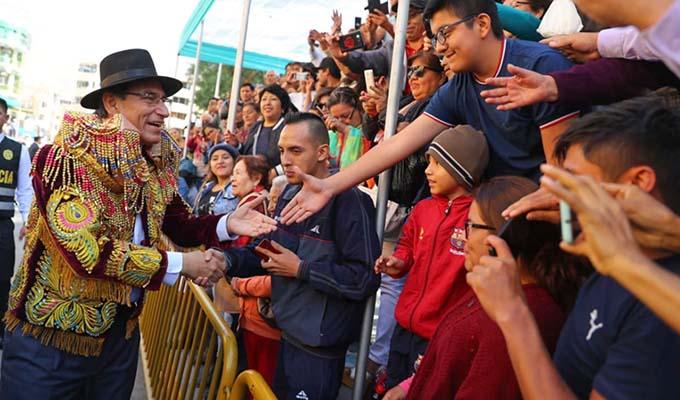Vizcarra: Congreso debe analizar la próxima semana adelanto de elecciones