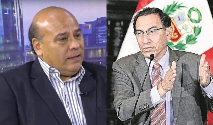 Cesar Campos: La marca de Vizcarra han sido  los giros populistas y el oportunismo