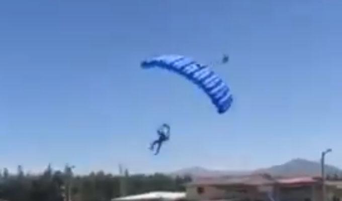 Cajamarca: paracaidista de la FAP falleció tras chocar contra techo