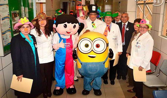 Pequeños del INSN celebran el Día del buen trato al paciente