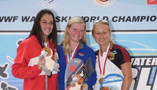 Natalia Cuglievan se consagró subcampeona en Mundial de esquí acuático