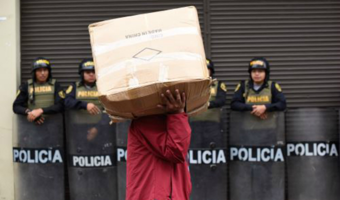 Mesa Redonda: ambulantes manifestaron su incomodidad tras megaoperativo