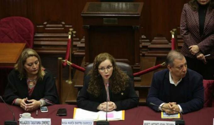 Comisión de Constitución se instala hoy con Bartra a la cabeza
