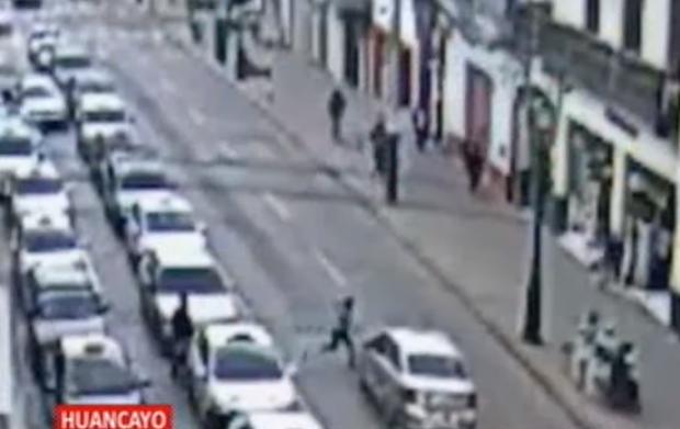 Huancayo: menor atropellada por taxista acabó policontusa y con traumatismo | Panamericana TV - Panamericana Televisión