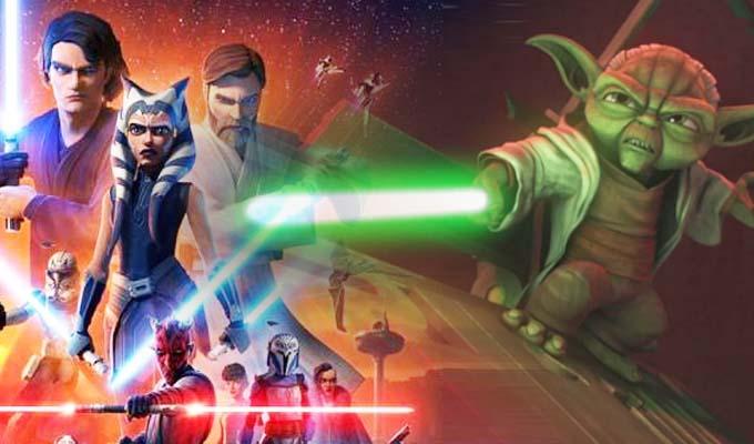 """Star Wars: """"The Clone Wars"""" estrenó el trailer de su última temporada"""