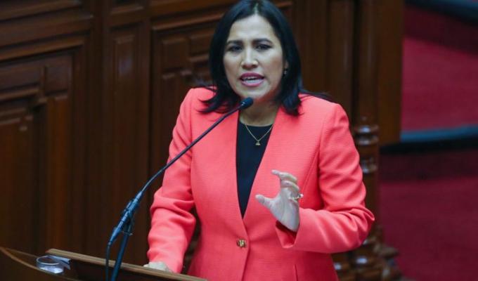Flor Pablo: Fiscalía pide 4 años y 8 meses de prisión para exministra