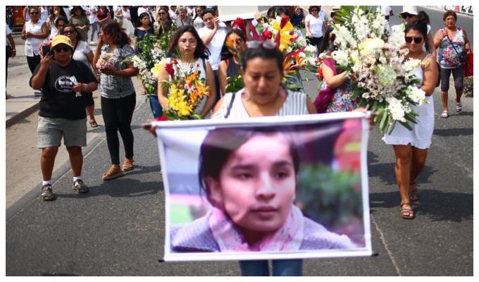 Solsiret Rodríguez: trasladan restos de activista a cementerio del Callao